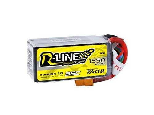 Tattu R-Line 1550mAh 95C 4S Lipo