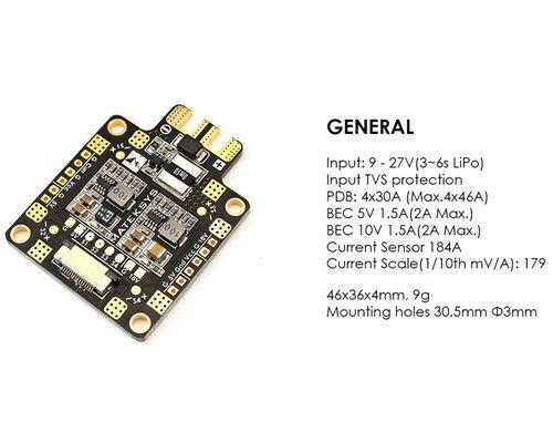 Matek PDB FCHUB-6S 184A-5V-10V