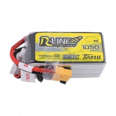 Tattu R-Line 1050mAh 95C 22.2V 6S Lipo