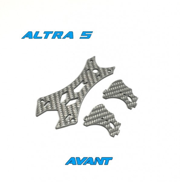 Avant Quads Altra Top Plate Kit 25mm Silber