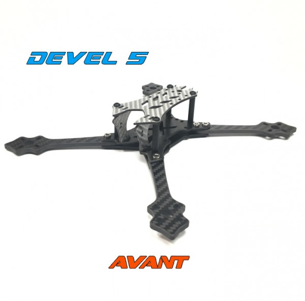 Avant Quads DEVEL 5 Zoll Frame Silber