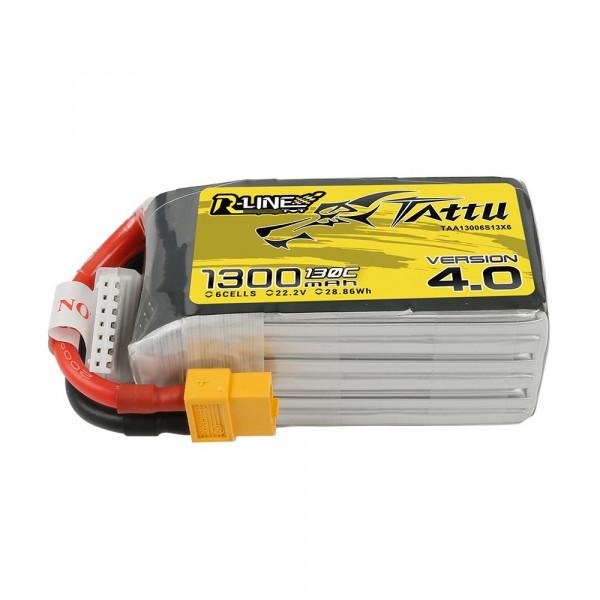 Tattu R-Line Version 4.0 1300mAh 22.2V 130C 6S