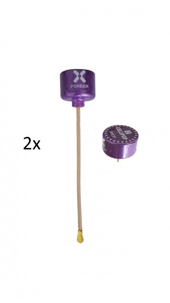 Foxeer Lollipop V2 RHCP 2x U.FL Lila/Purple