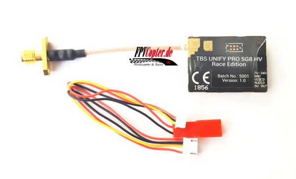 TBS Unify Pro 5.8Ghz HV-Race