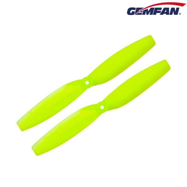 GEMFAN 65mm 2-Blatt Propeller Yellow