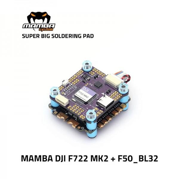 Diatone MAMBA DJI F722 50A 6S 32bit Stack