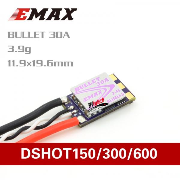 Emax Bullet 30A D-Shot