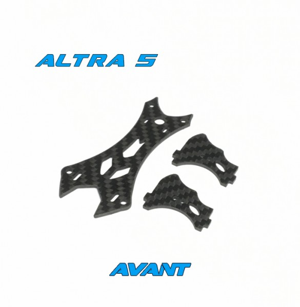 Avant Quads Altra Top Plate Kit 25mm Black